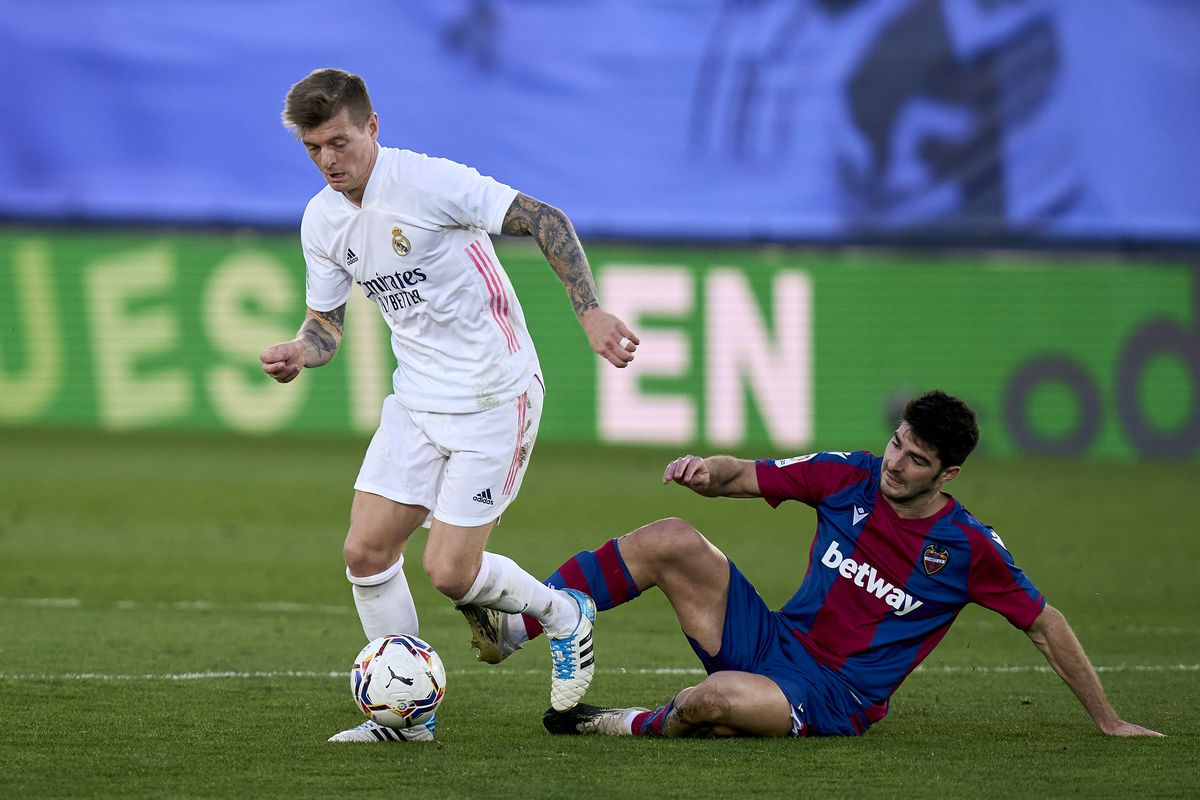 Real Madrid v Levante UD - La Liga Santander