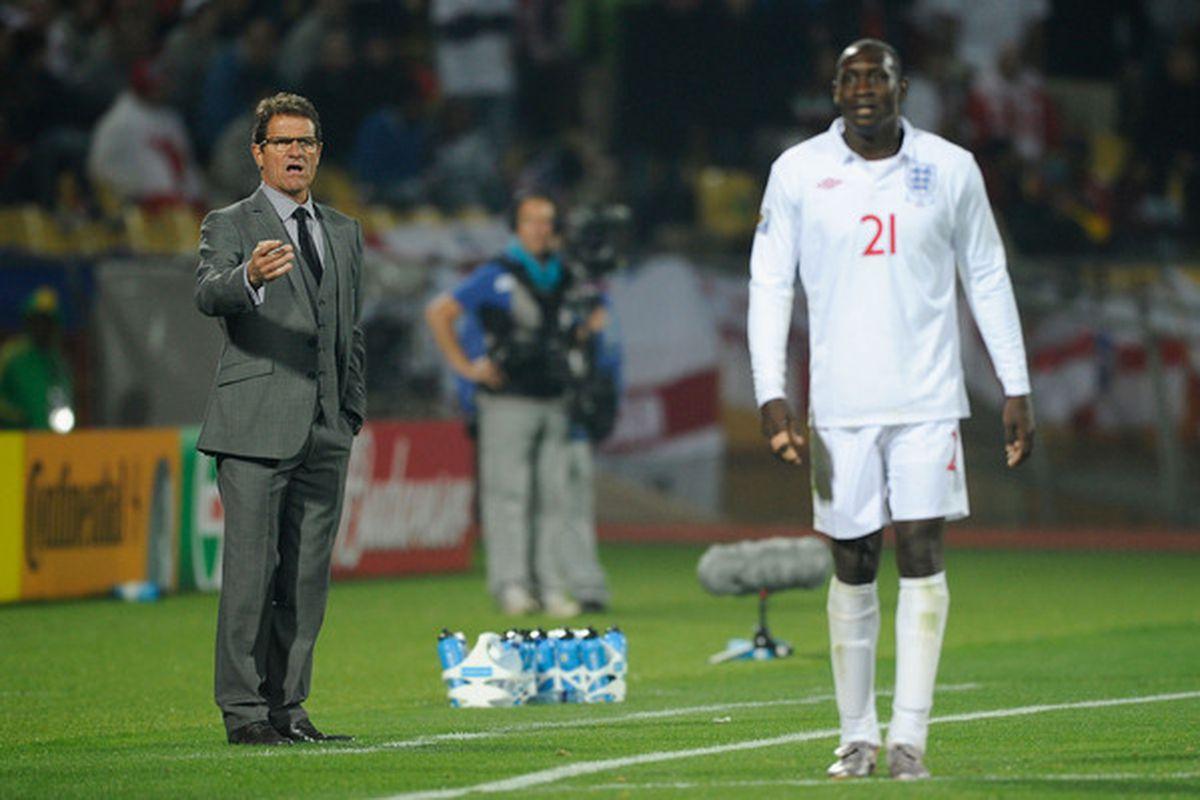 Welcome back, big man. (Photo by Kevork Djansezian/Getty Images)