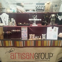 """Crafty giftables were represented by the <a href=""""http://www.theartisangroup.org/"""">Artisan Group</a>, which sent guests home with handmade bath products, jewelry, stationery and all sorts of Etsy-worthy merch."""
