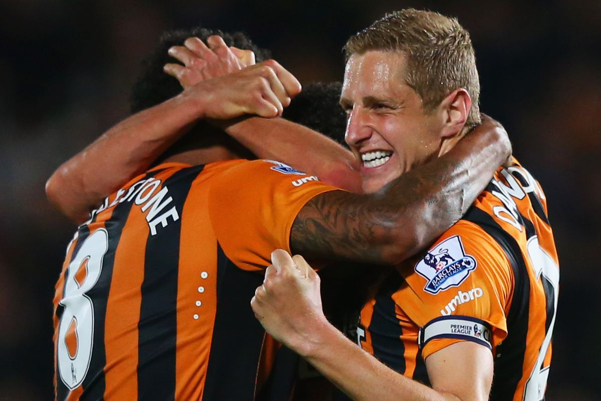 This man had struck a middling but effective blow against hope or pride or something you were clinging to going into the match against Hull. Thanks Michael Dawson.