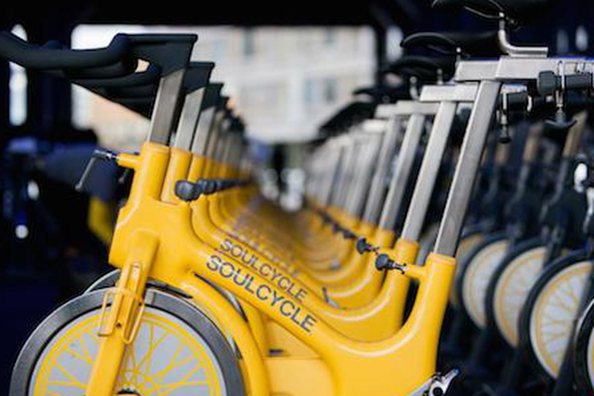 """Image via <a href=""""http://sosh.com/new-york-city/soulcycle-soho/feel-good-fitness-soulcycle-benefit-ride/a/MLgf/"""">Sosh</a>"""