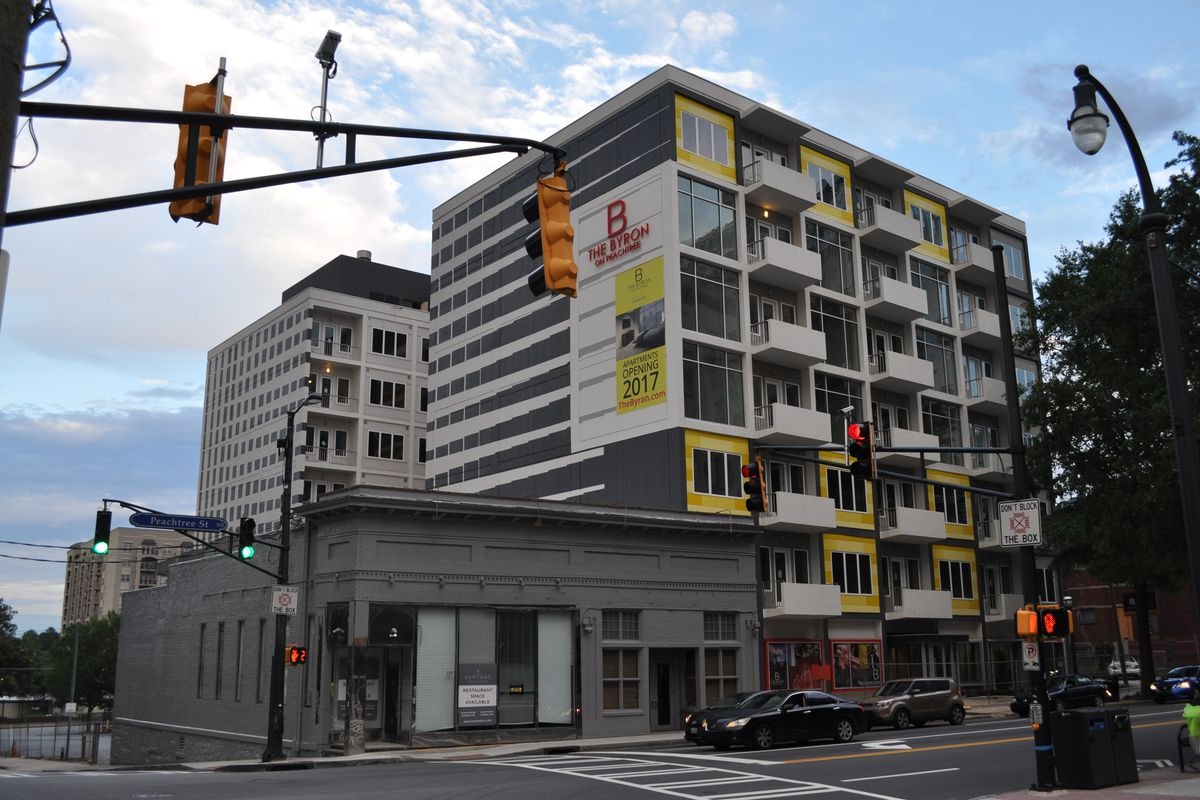 Downtown Atlanta's newest apartments, The Byron, reveal ...
