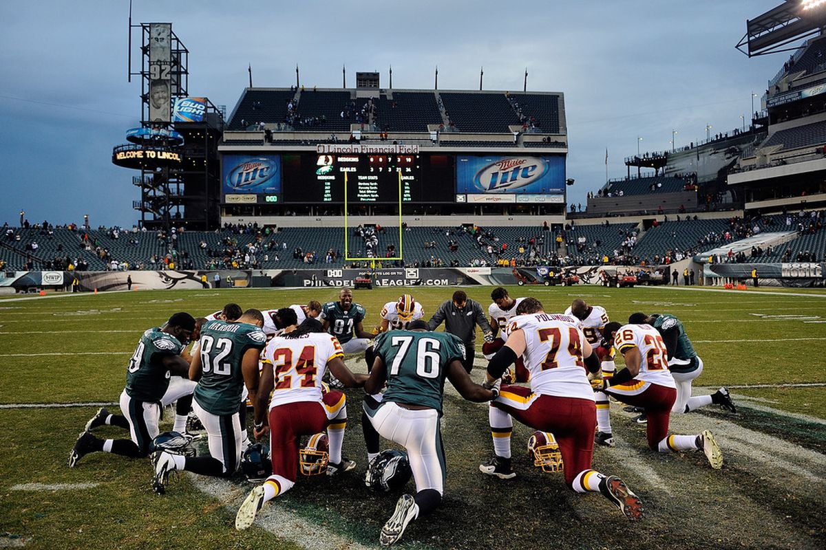 Both teams are praying for a win this week.