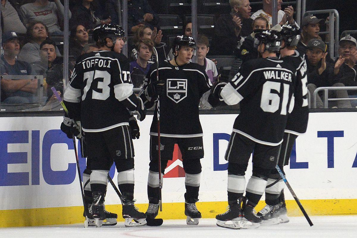 NHL: Preseason-Vegas at Los Angeles Kings