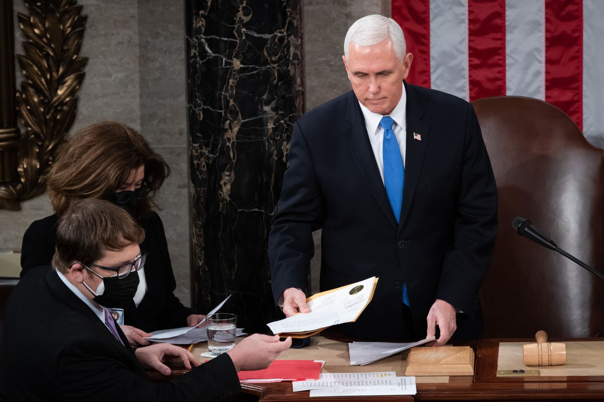VP Mike Pence Reportedly Said 'After All I've Done for Trump' as Armed MAGA Mob Took the Capitol Chanting 'Where's Pence, Show Yourself'
