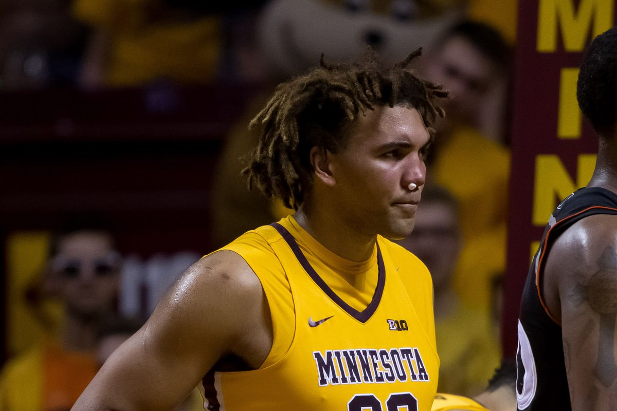 Gophers basketball: Suspended Reggie Lynch back at practice