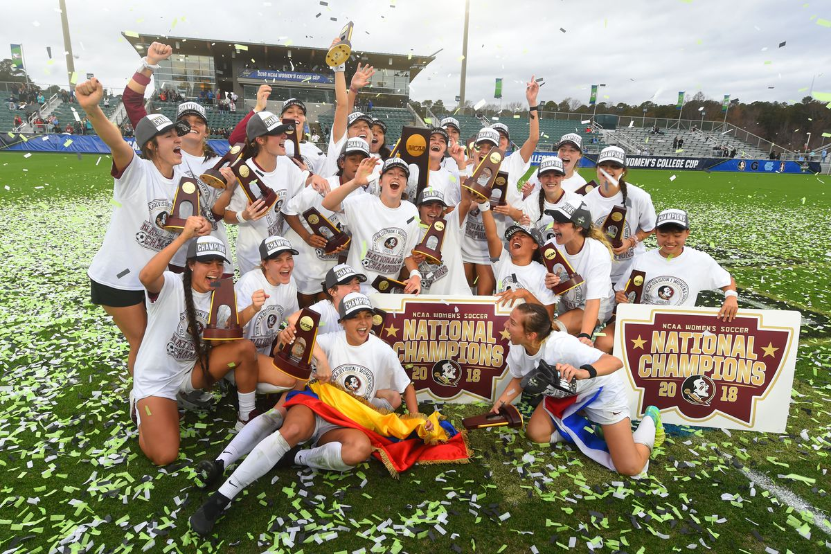 Florida State Soccer Wins The National Championship Tomahawk Nation