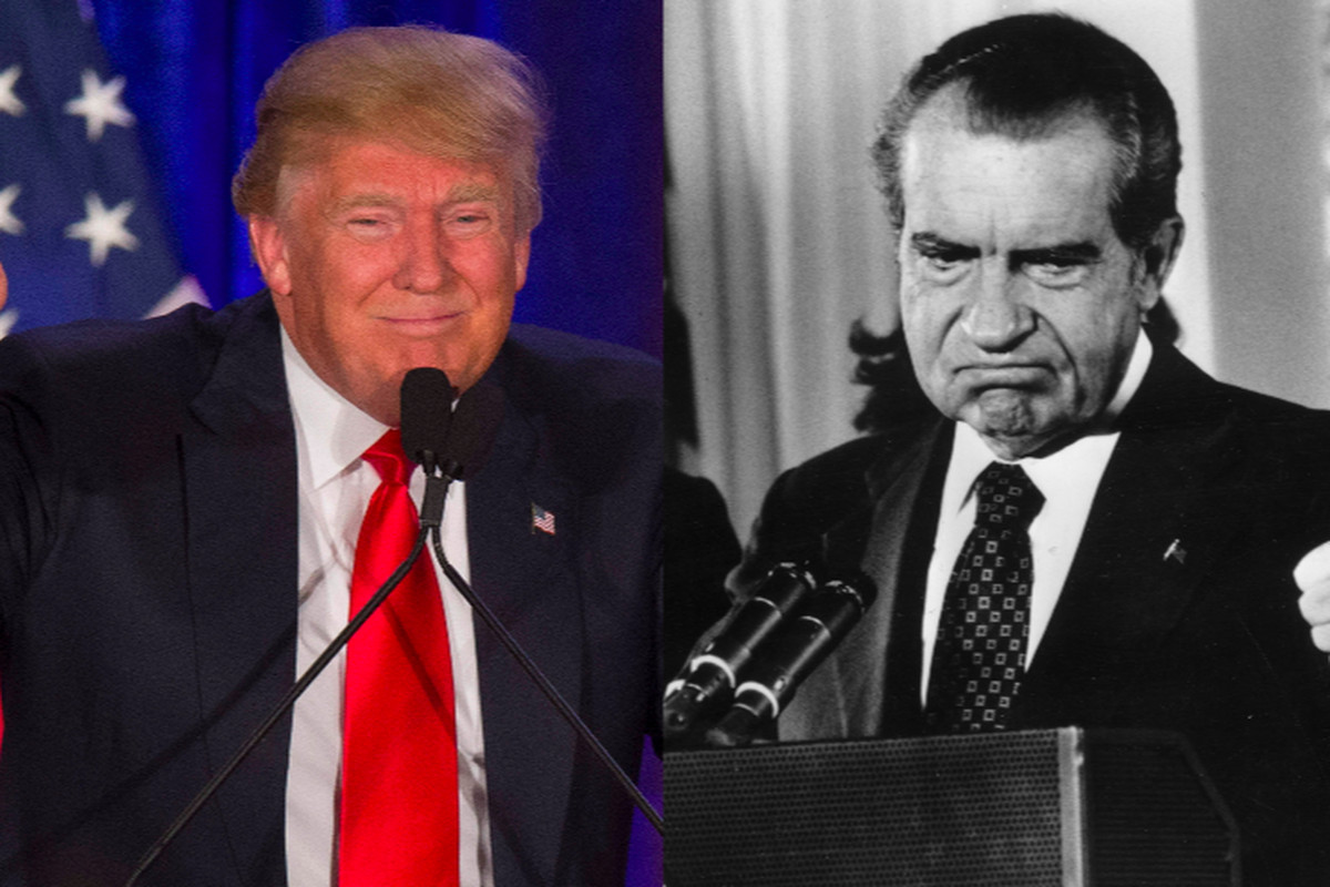 Donald Trump's real political inspiration: Richard Nixon