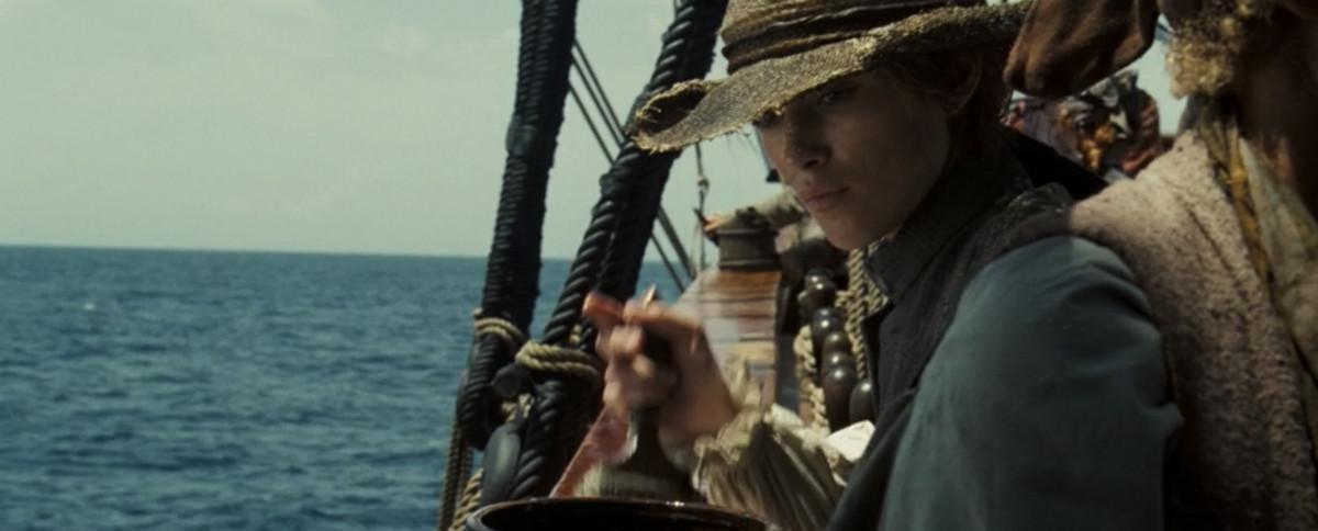 elizabeth dressed as a sailor