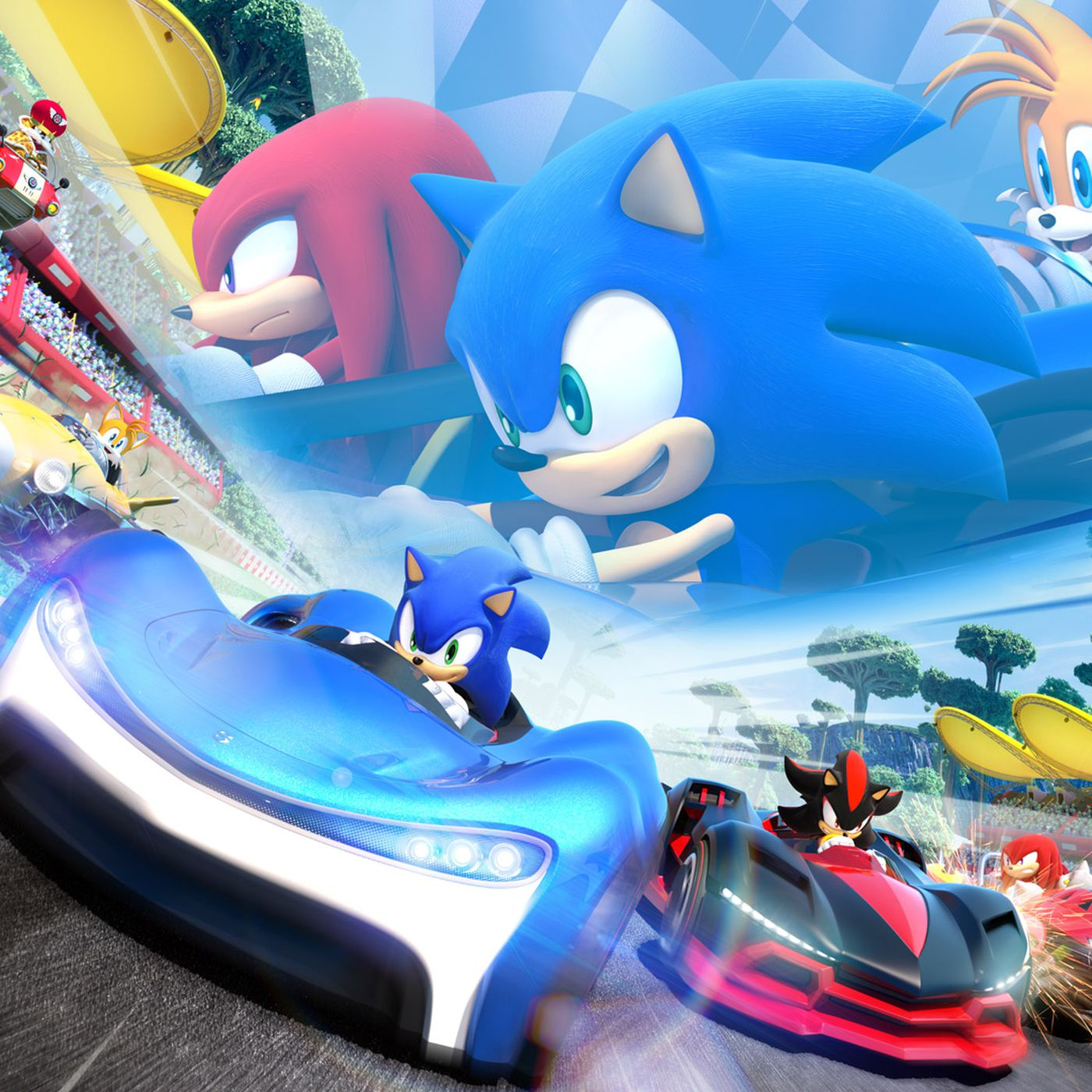 team sonic racing delayed to spring 2019 polygon
