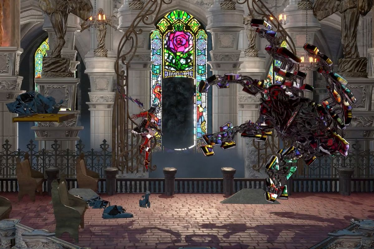 Bloodstained: Ritual of the Night Dian Cecht Cathedral map