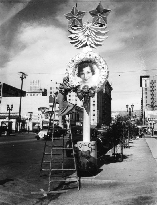 Claudette Colbert wreath