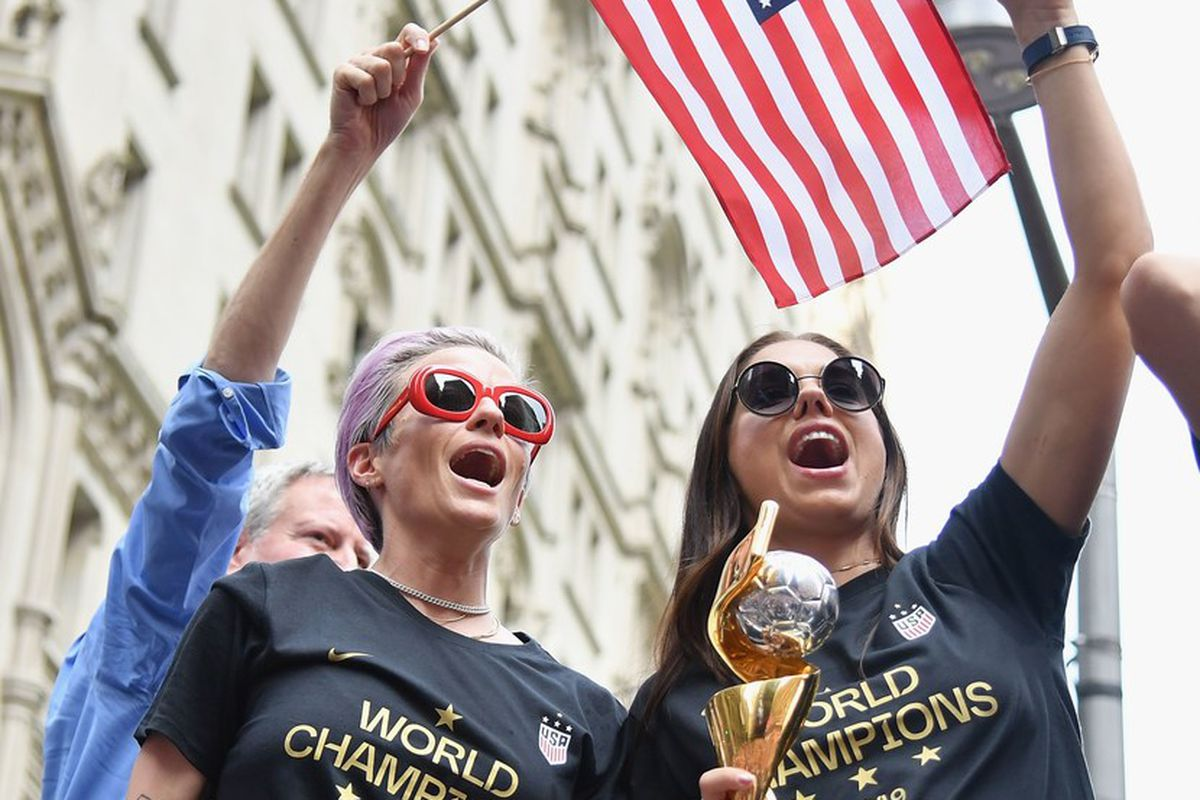 USWNT receives $529,000 donation from Secret deodorant in support of equal pay