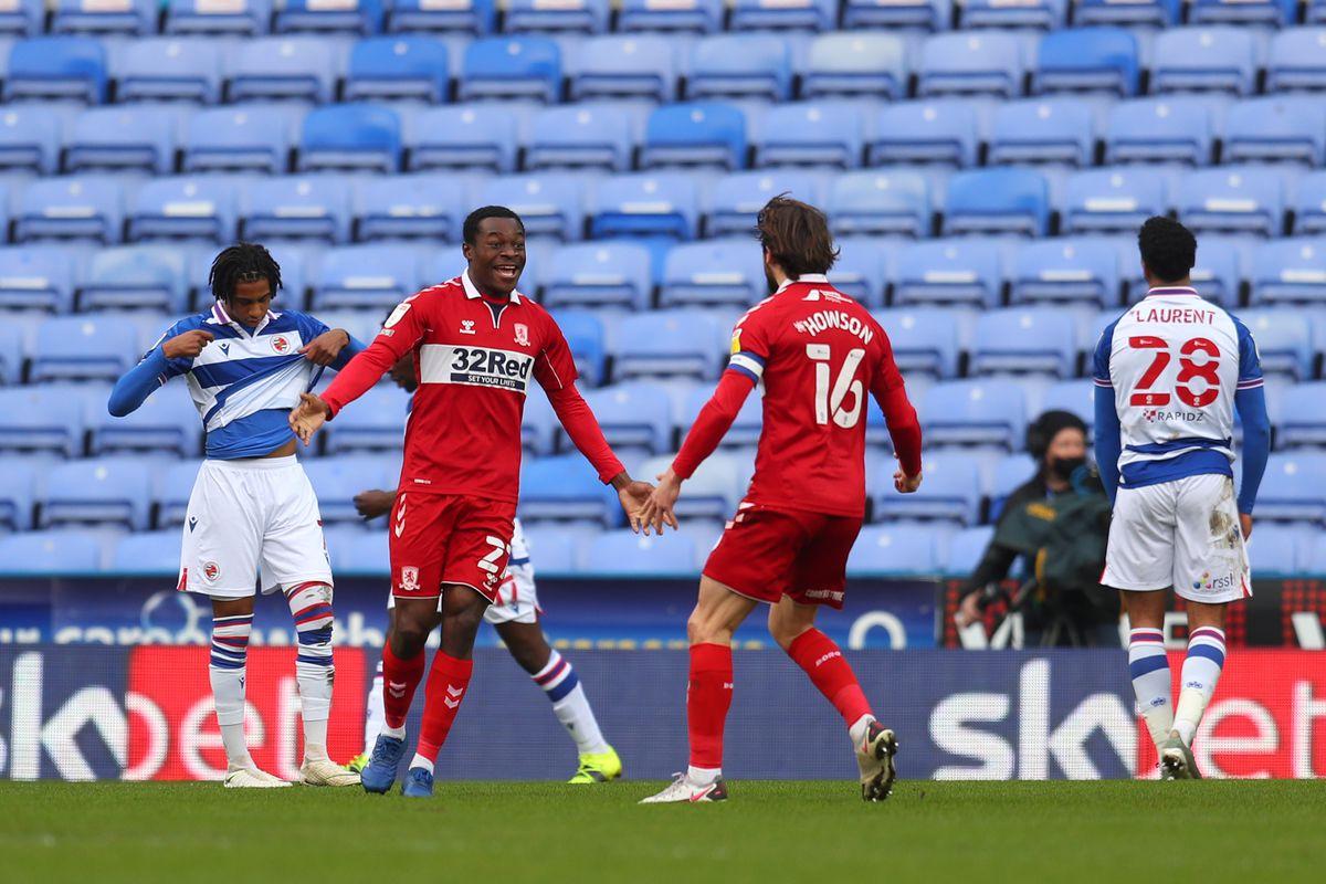 Reading v Middlesbrough - Sky Bet Championship