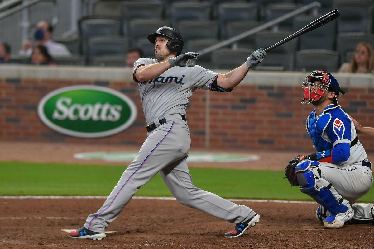 MLB: APR 12 Marlins at Braves