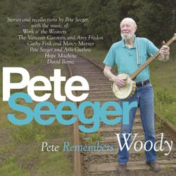"""This CD cover image released by Appleseed Recordings shows """"Pete Remembers Woody,"""" one of two releases by Pete Seeger."""