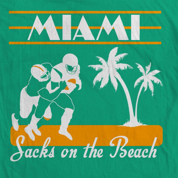 Sacks on the Beach 1