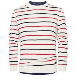 """<strong>H.E. By Mango</strong> Linen Cotton-Blend Striped Sweater in Bone Vigore, <a href=""""http://shop.mango.com/US/p0/men/clothing/cardigans-and-sweaters/linen-cotton-blend-striped-sweater/?id=23060018_9V&n=1&s=prendas_he.cardigans_he&ident=0__0_13981748"""