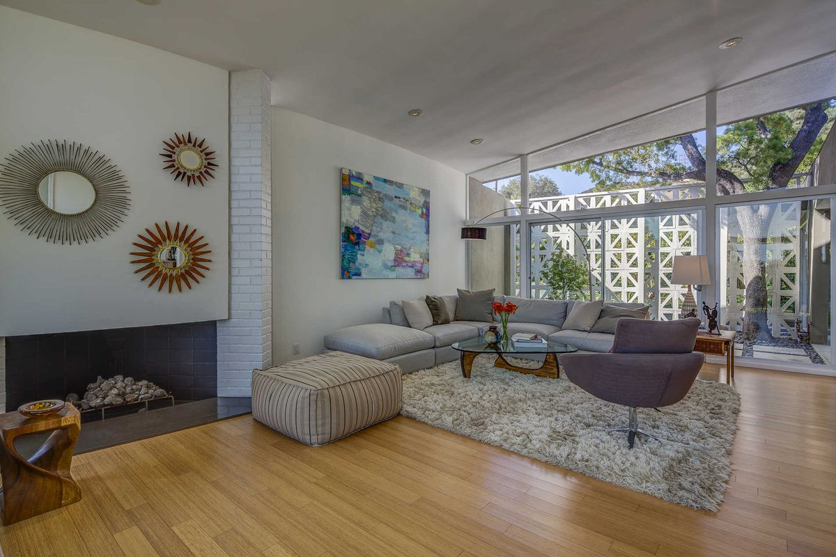 midcentury house with verdant backyard oasis asks 4 5m in