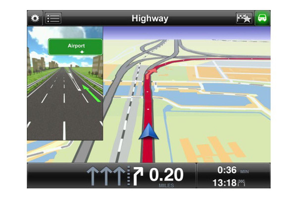 TomTom iOS update brings GPS navigation to iPad - The Verge