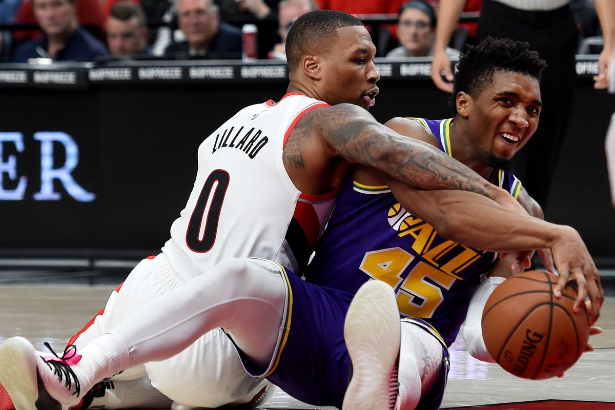 Image result for trail blazers jazz