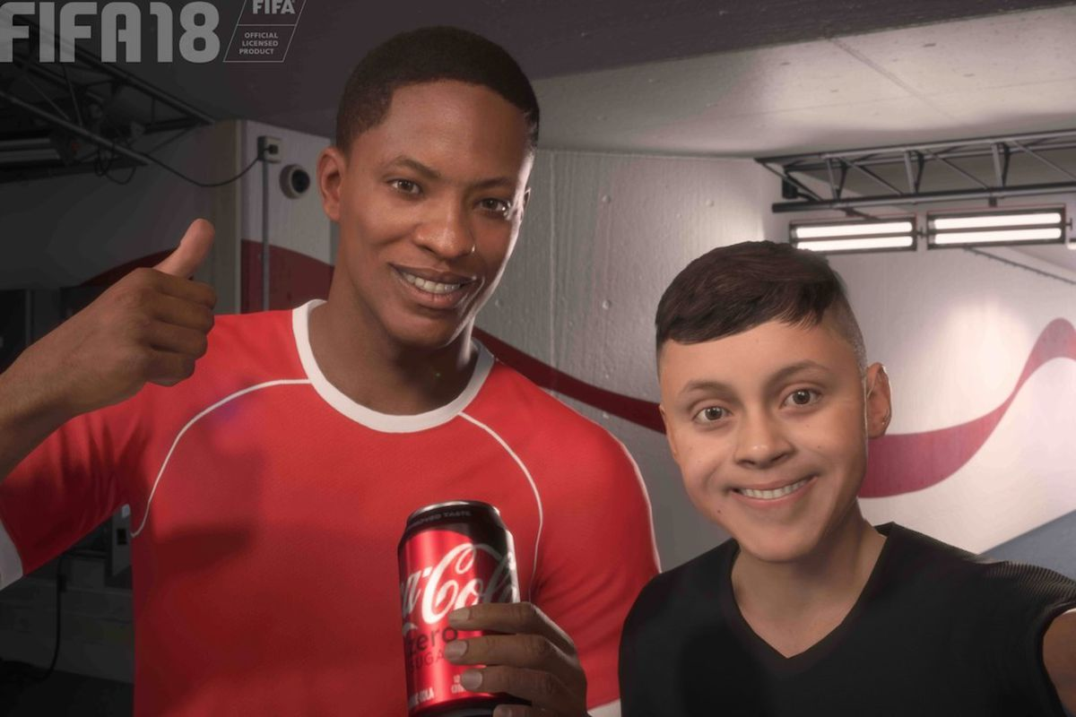 Fifa 18s Hero Is Also A Coca Cola Pitchman In Real Life Polygon