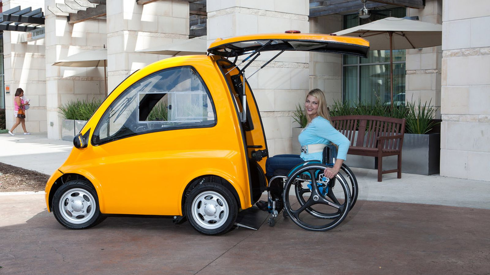 Kenguru Is A Tiny Electric Hatchback For Wheelchair Users The Verge