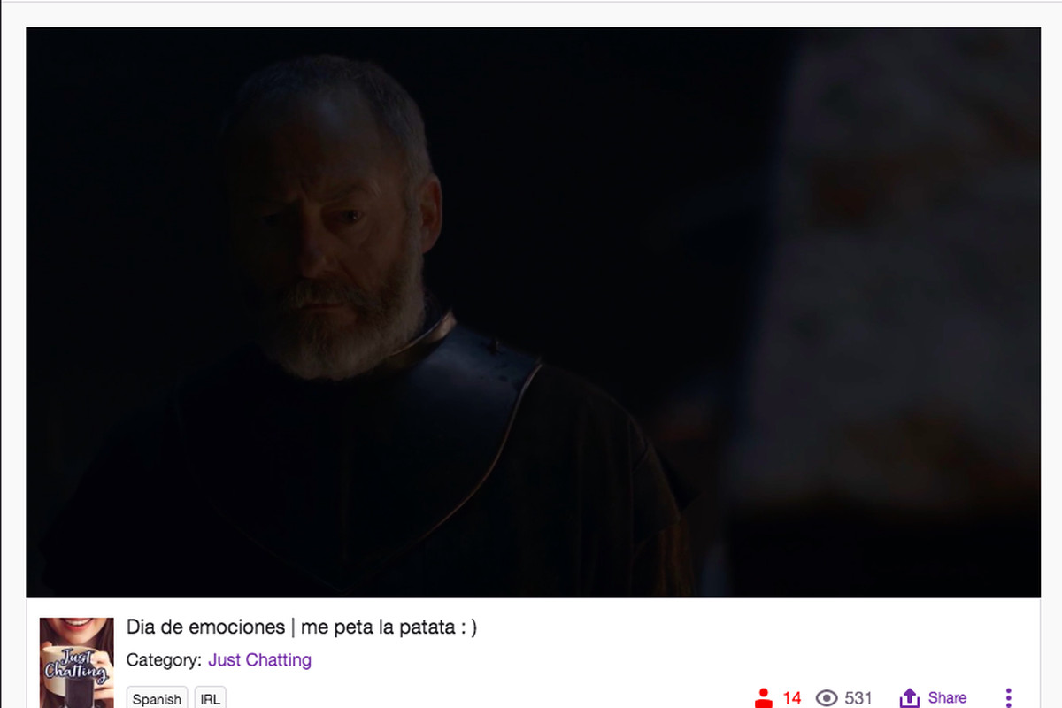 People are live-streaming new Game of Thrones episodes on