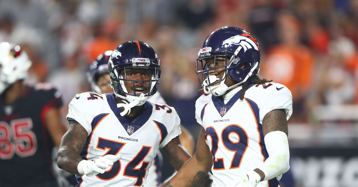 How does Emmanuel Sanders injury affect the Broncos defense?