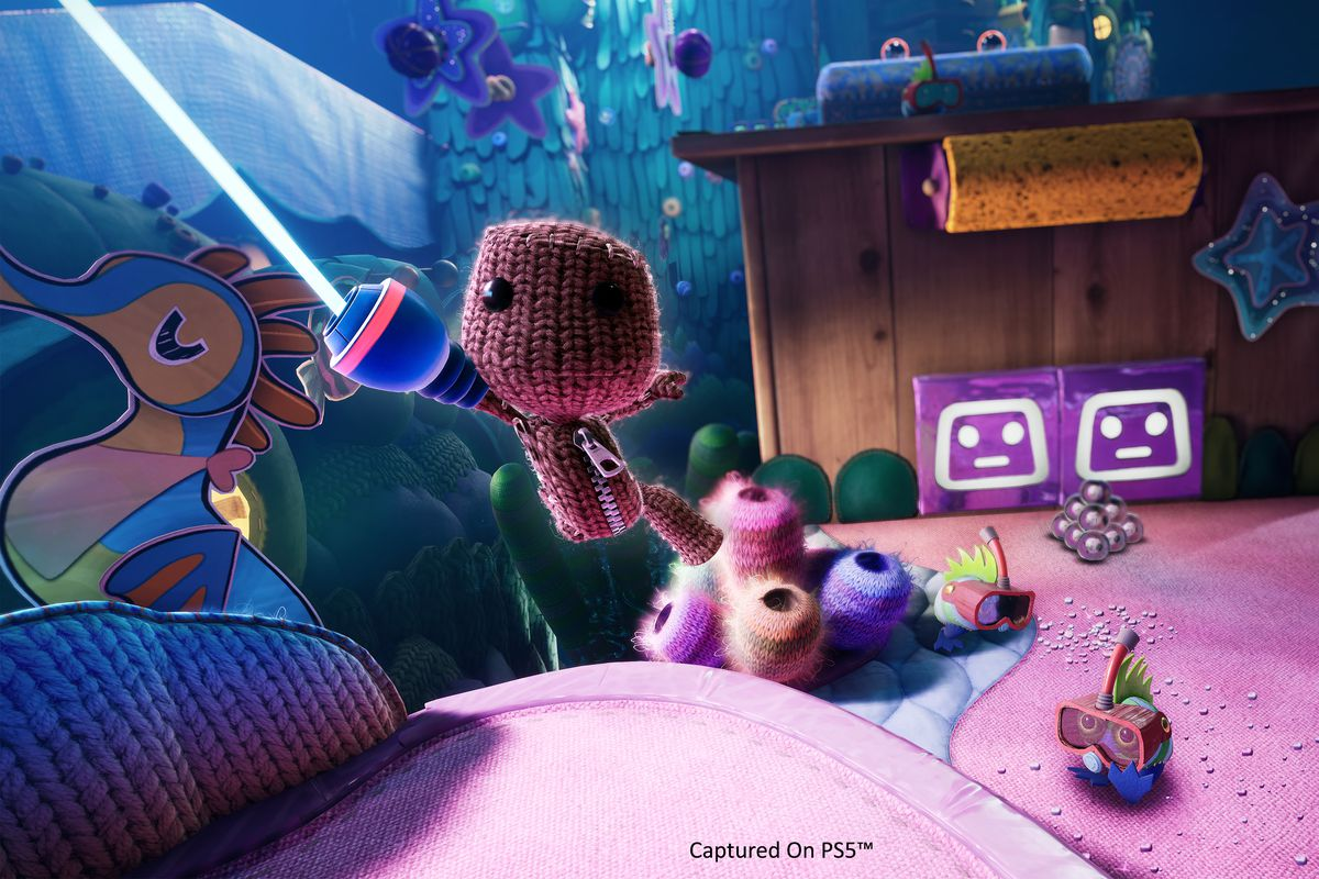 Sackboy will get the control glow up he deserves for his 3D PS5 adventure - Polygon
