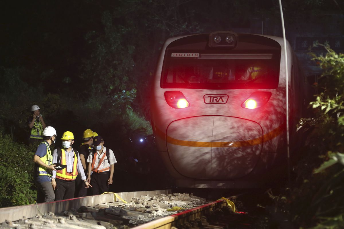 A passenger train in Taiwan killed at least 50 people and injured dozens.