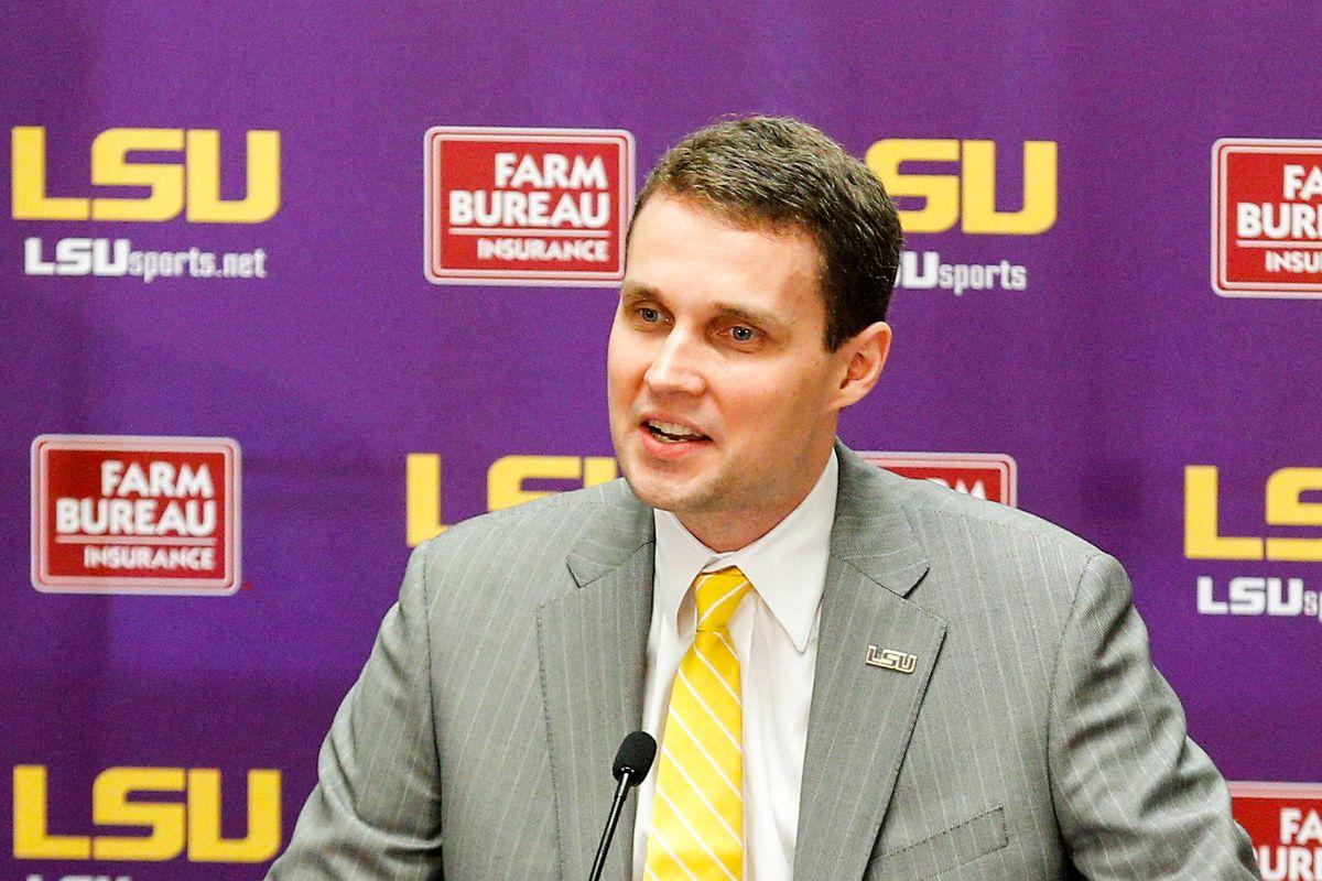 NCAA Basketball: Louisiana State Press Conference