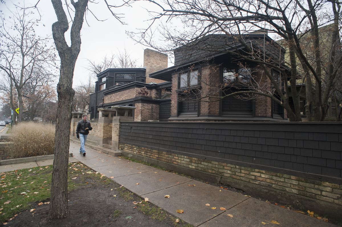 Frank Lloyd Wright's Home and Studio, 951 Chicago Ave. in Oak Park. | Sun-Times file photo