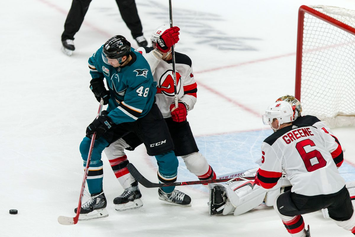 New Jersey Devils Decisively Defeated by San Jose Sharks - All About ... a9853a8ce