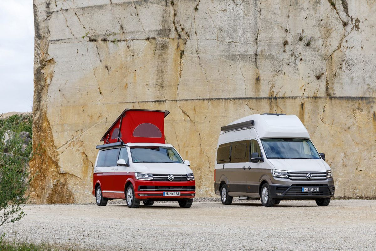 VW California Xxl >> Volkswagen Van The New Grand California Builds On Iconic