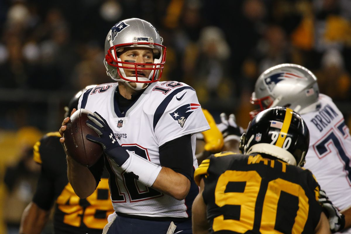 best service ffc6e 16537 Sunday Night Football: Pittsburgh Steelers @ New England ...