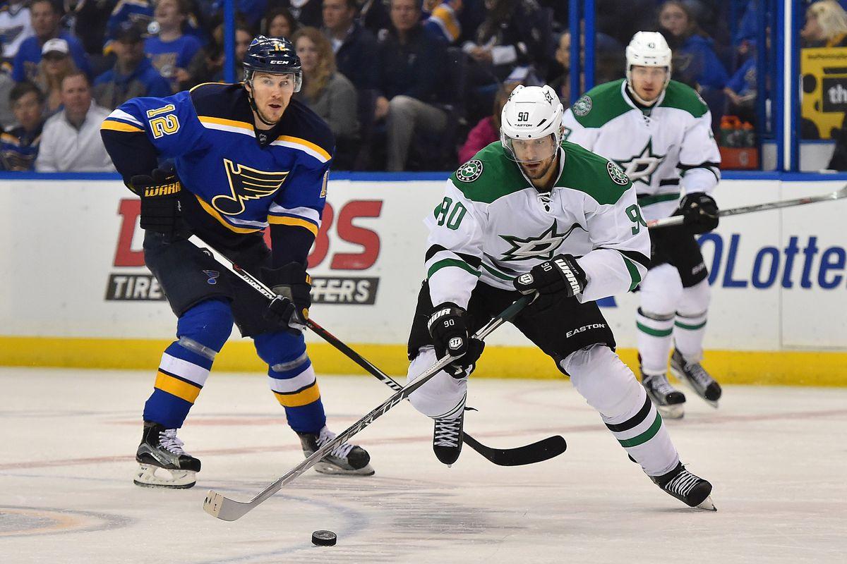 NHL: Stanley Cup Playoffs-Dallas Stars at St. Louis Blues, Jason Spezza