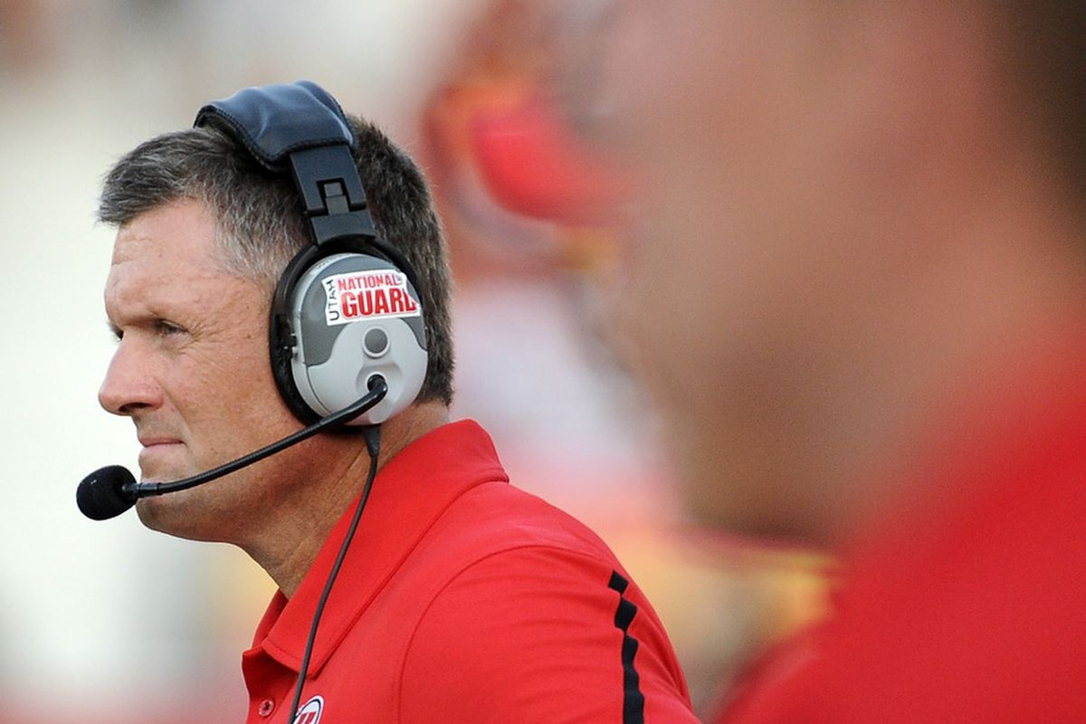 Kyle Whittingham will still coach against his alma mater, even if not every season.