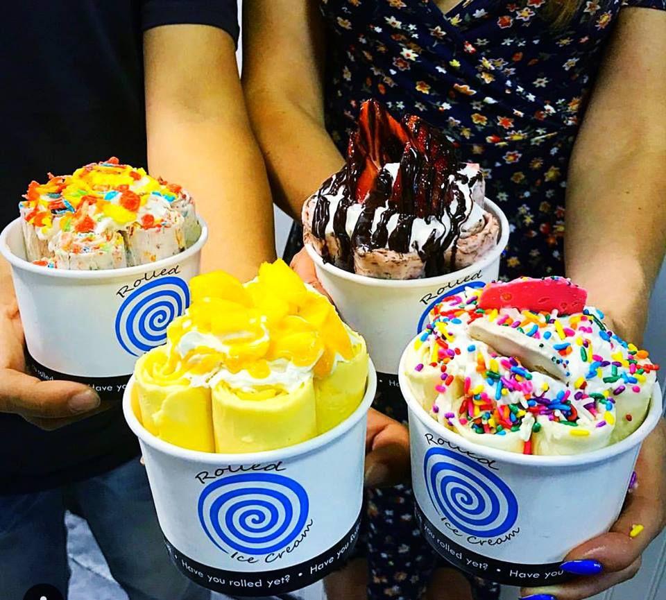 Rolled Ice Cream
