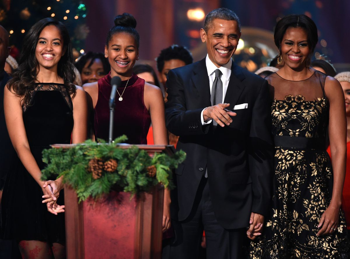 This is what Christmas dinner at the White House has looked like ...