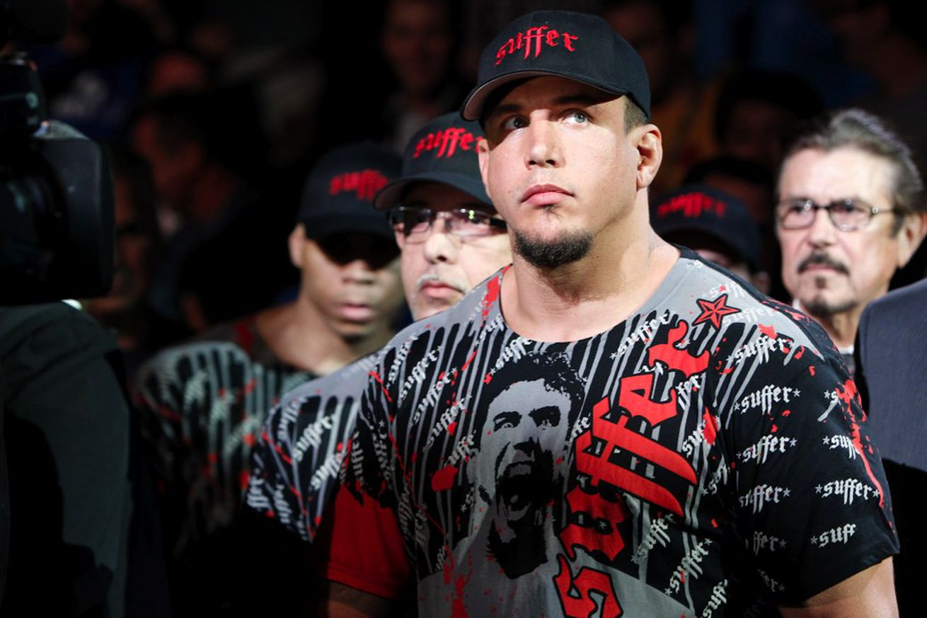 Frank Mir granted his UFC release