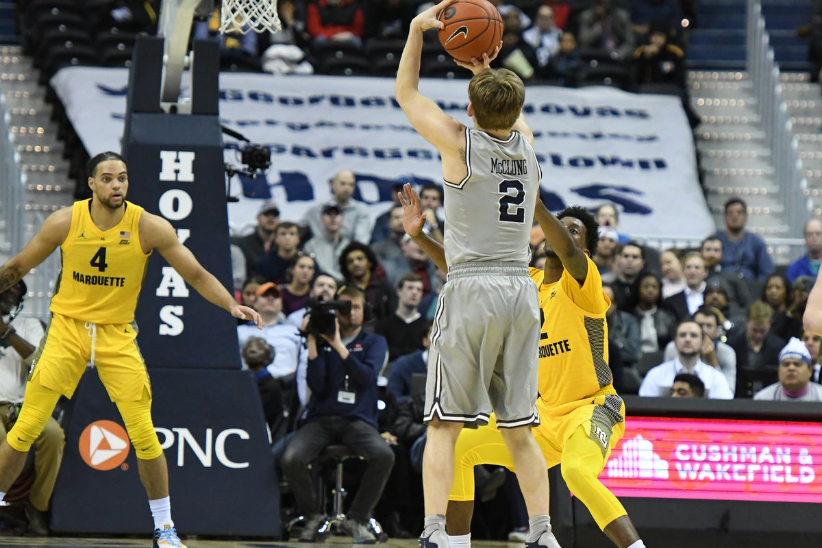 LINKS: Marquette Visits Georgetown Saturday for a GRAY OUT!