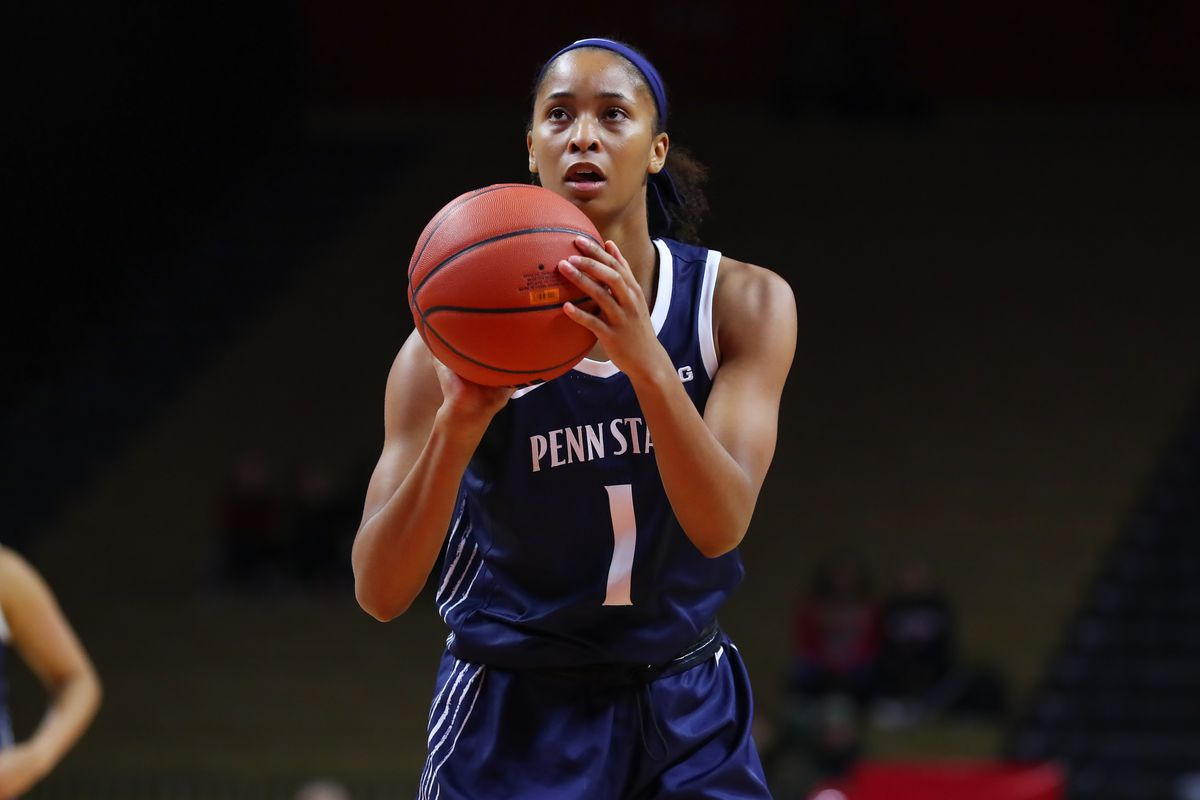 COLLEGE BASKETBALL: FEB 06 Women's Penn State at Rutgers