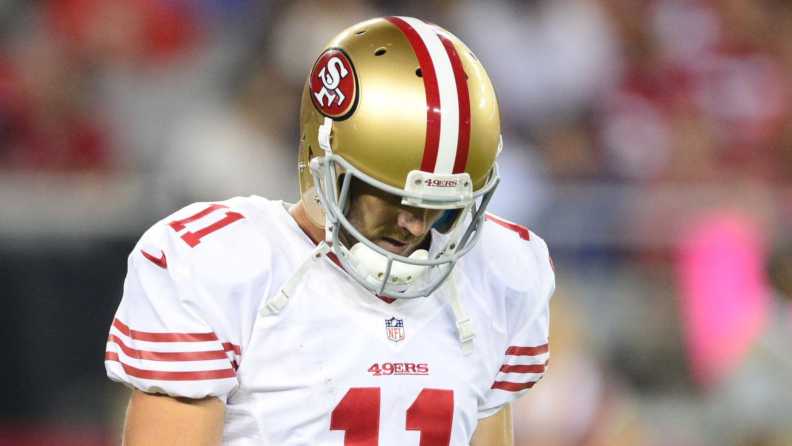 Alex Smith Injury 49ers QB Out Colin Kaepernick Will