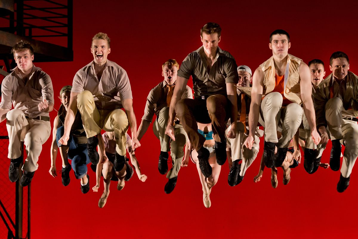 New York is red, right? Just ask Stephen Sondheim!