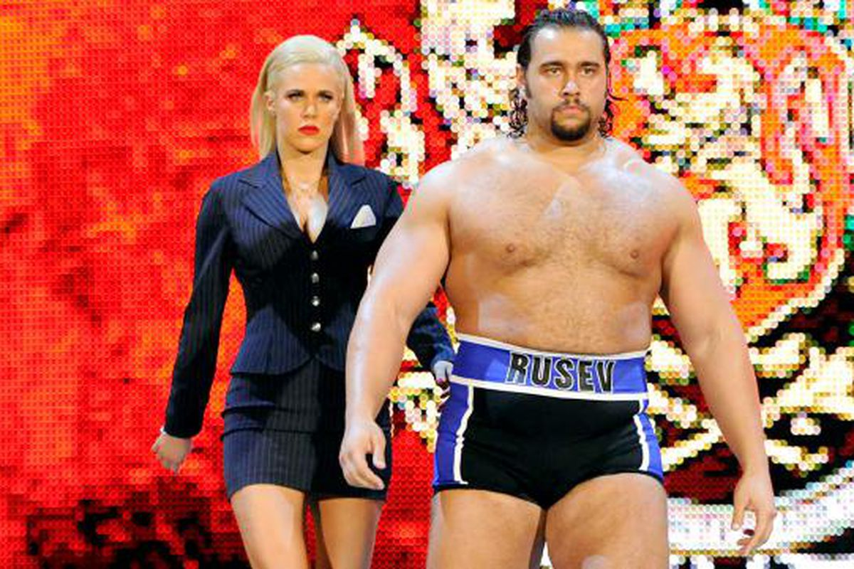 Hi, My Name is: Alexander Rusev (and Lana) - Cageside Seats