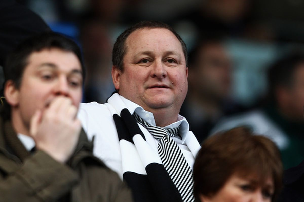 Is Mike Ashley amused?