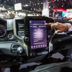 The New 2019 Ram 1500 Has A Massive 12 Inch Touchscreen