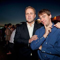 Lockhart Steele (right).