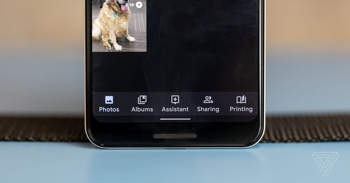 photo of Google Photos will no longer backup social media folders by default image